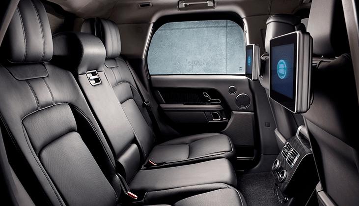Range Rover backseats