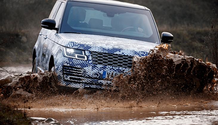 Range Rover off-road